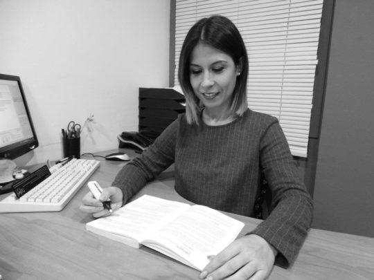 Verónica Guijarro – Cap Administració i Comptabilitat